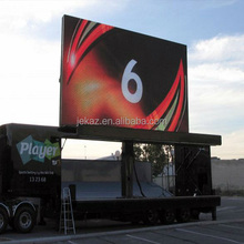 mobile ad outdoor P5 P6 P8 P10 full color LED display screen