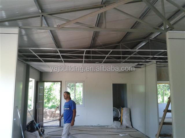 Low cost fast construction cheap prefabricated house