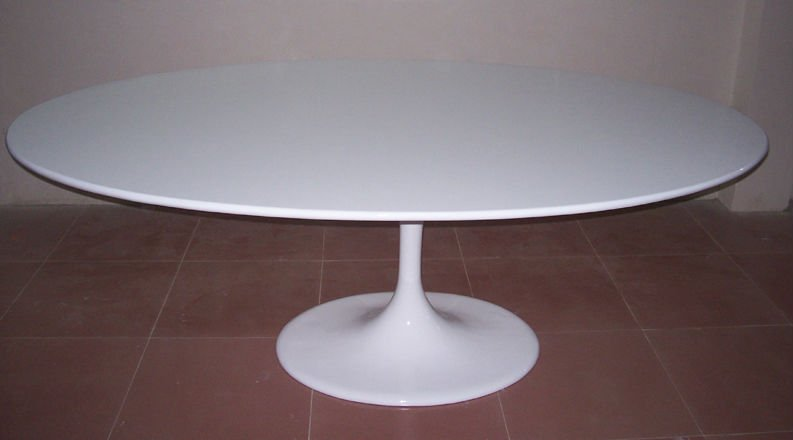 Saarinen tulipe table manger ovale table manger id de - Table tulipe ovale pas cher ...