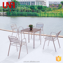 Una furniture outdoor gear patio table and chair sets alibaba hot sale cheap furniture