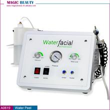 3 in 1 Oxygen jet water hydro dermabrasion diamond skin peeling hydral machine