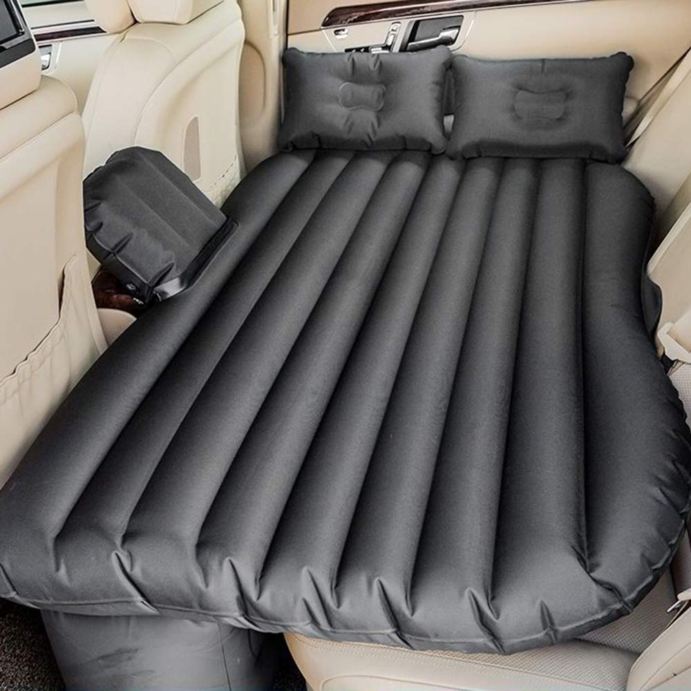 ZXQZ Car Inflatable Bed General Motors Foldable Rear Seat Air Bed Adult Outdoor Multi-function Shockproof Travel Bed Air Mattresses (Color : Black, Size : 2#)
