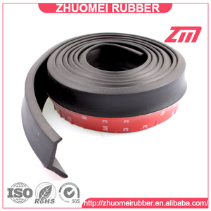 Car Front Bumper Rubber Skirt Lip Protector