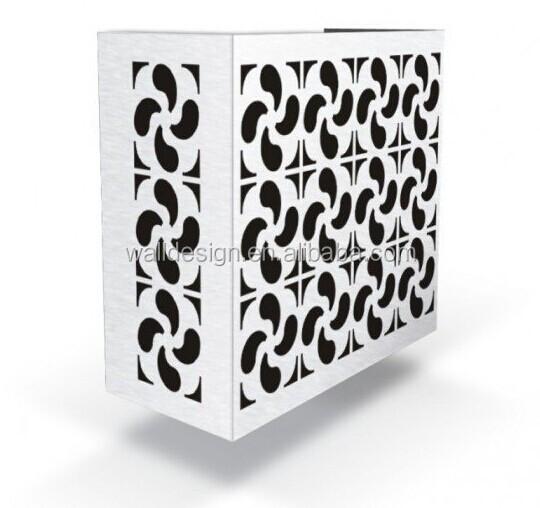 Alluminio Decorativo Copertura Condizionatore D 39 Aria Per La Decorazione Esterna Materiali Da