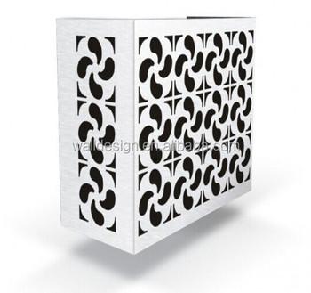 Decorative Aluminum Air Conditioner Cover For Outdoor