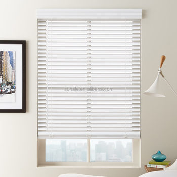 2 inches faux wood blinds 50MM PVC venetian roller shades Horizontal Pattern window curtain