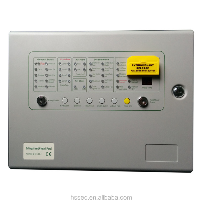 Fm200 fire alarm Fire Extinguisher Control Panel for lowest price