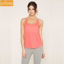 Hot Sales Fitness Yoga Tank Top Women Quick Dry Sexy Sport Tops