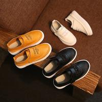 d83623f 2016 wholesale boys leather school shoes kids shoes white