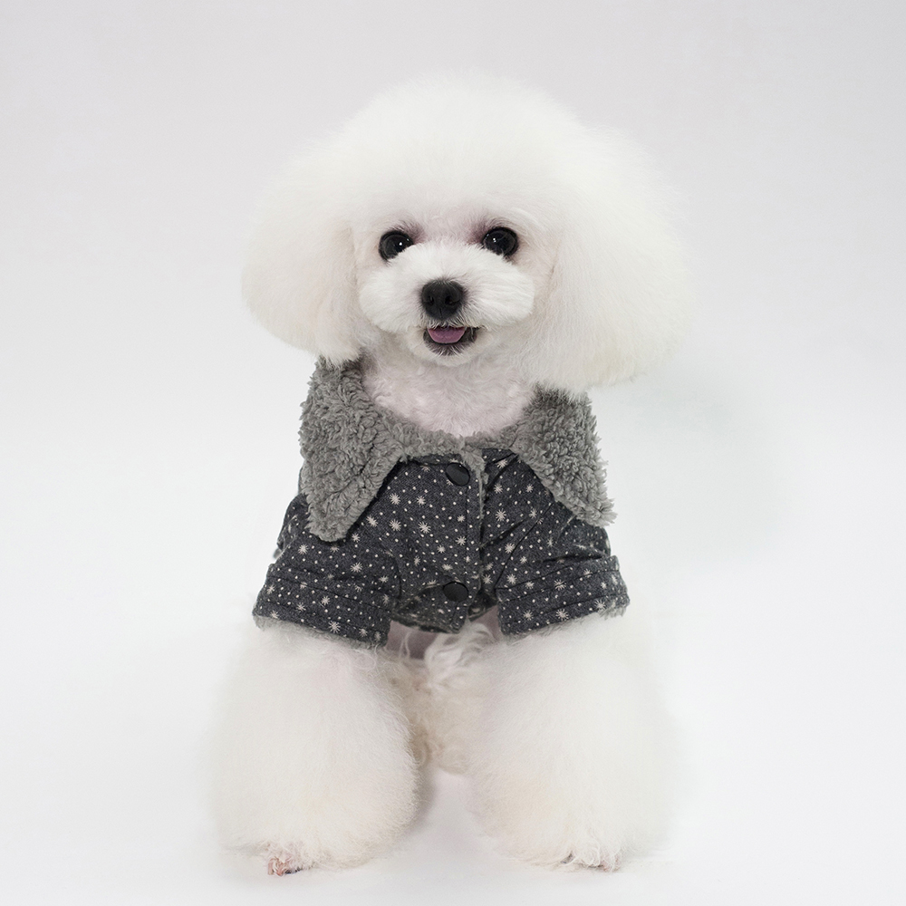 Lovoyager pet clothing cotton dog clothes winter dog coats