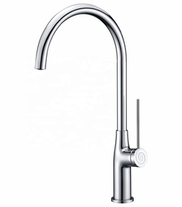 modern design brass sanitary ware kitchen cold and hot water faucet