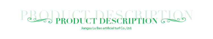 Lingkungan murah cina disesuaikan Plastik buatan rumput/rumput/rumput/tikar