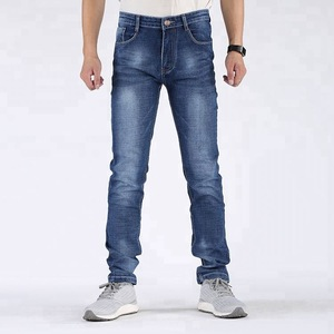 men jean pants straight elastic jeans pants for boys
