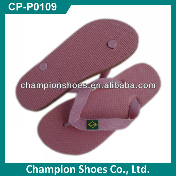 High Quality Rubber Brazil Slippers