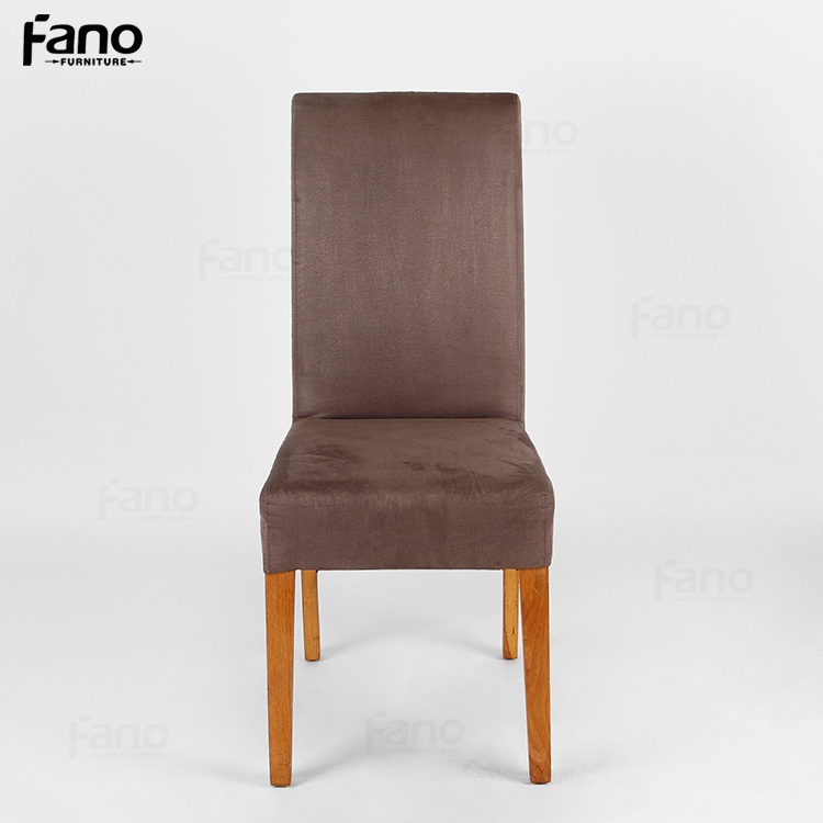 fabric meeting dining chair leather wood brown