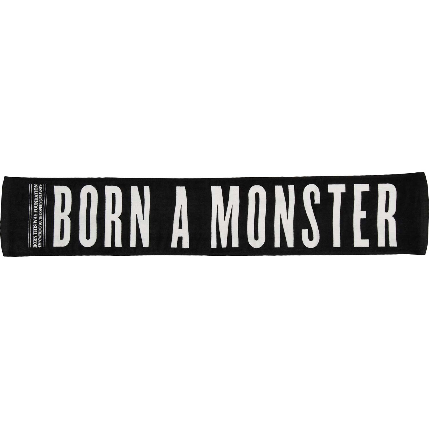 """Official Lady Gaga Sports Towel - Born A Monster 43"""" x 8"""""""