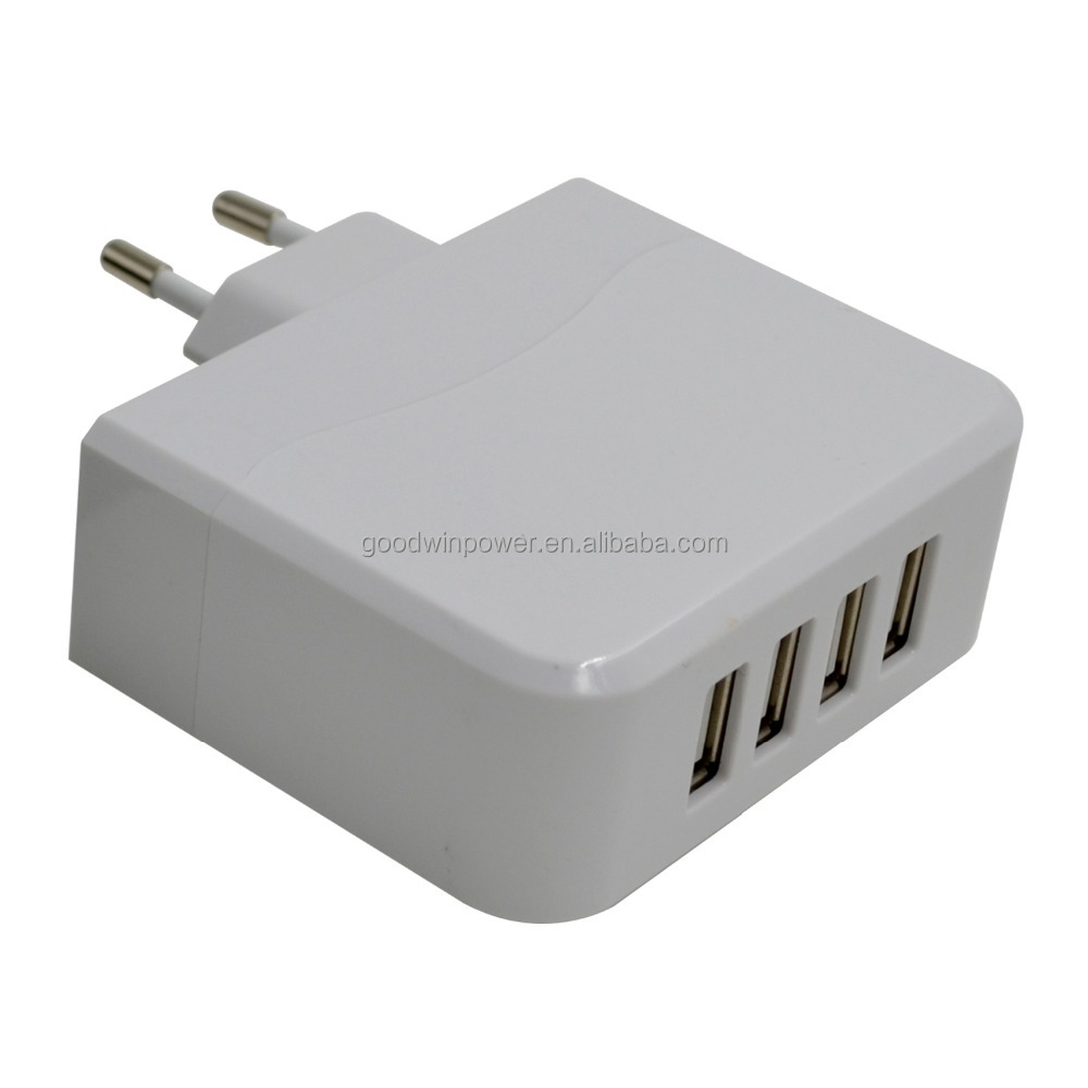 High quality 4 port USB baterry charger for Samsung Galaxy S6