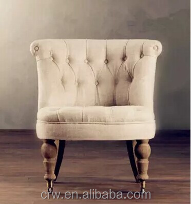 Rch 4261 4 French Style Fabric Sofa Chair Provincial Furniture