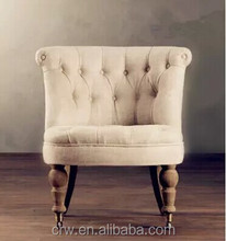 RCH-4261-4 French Style Fabric Sofa Chair French Provincial Furniture