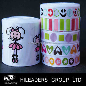 Wholesale High Quality Grosgrain Printed Ribbon