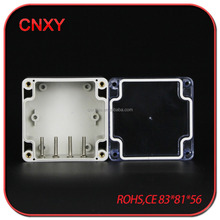 Clear cover IP65 plastic electronic junction box