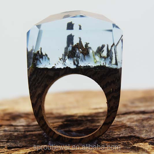 2016 originality Forest Wood <strong>Ring</strong>