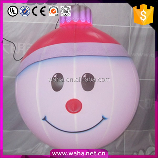 2016 Hot Sale Indoor Or Outdoor Lighting Christmas Snow Man Inflatables