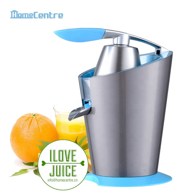 High quality professional large power 180W electric Citrus press hand held with Stainless steel filter
