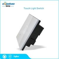 2017 New coming Zigbee HA1.2 light control smart wall power switch