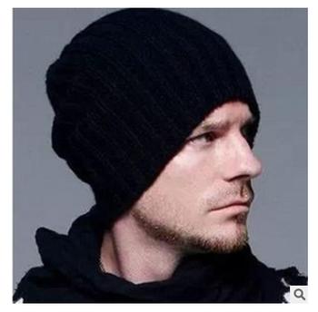 вязаная мужская шапка бинисутулясь череп шляпа для мужчинунисекс