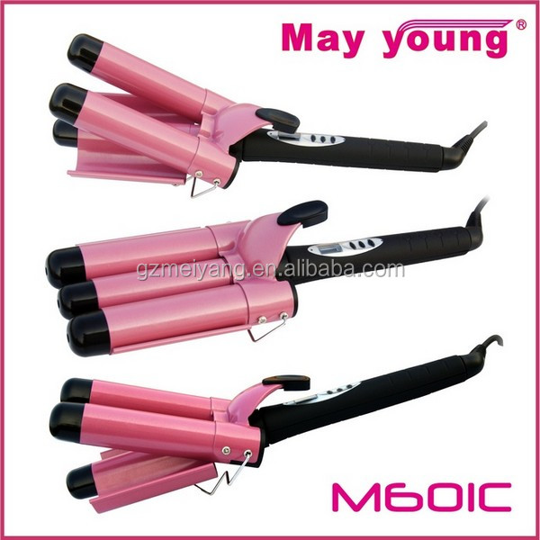 M601C Magic 3 barrels hair curling iron