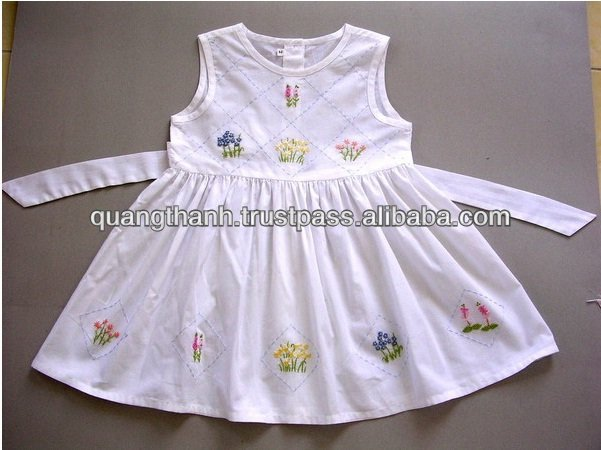 Hand Embroidery Baby Dress
