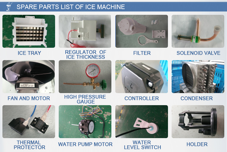 Most Popular China High Commercial Cube Ice Maker Machine