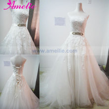 Lace Appliques A Line Real Sample German Wedding Dresses