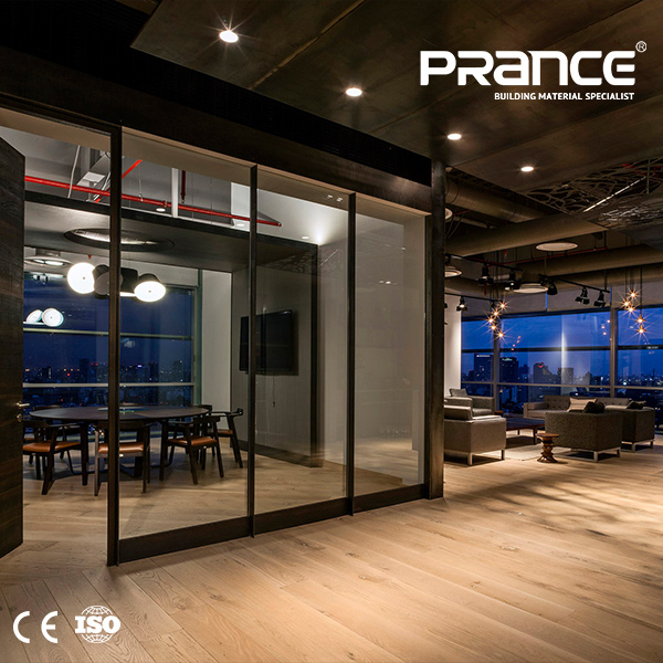 Office Soundproof Tempered Glass Partition, Office Soundproof ...