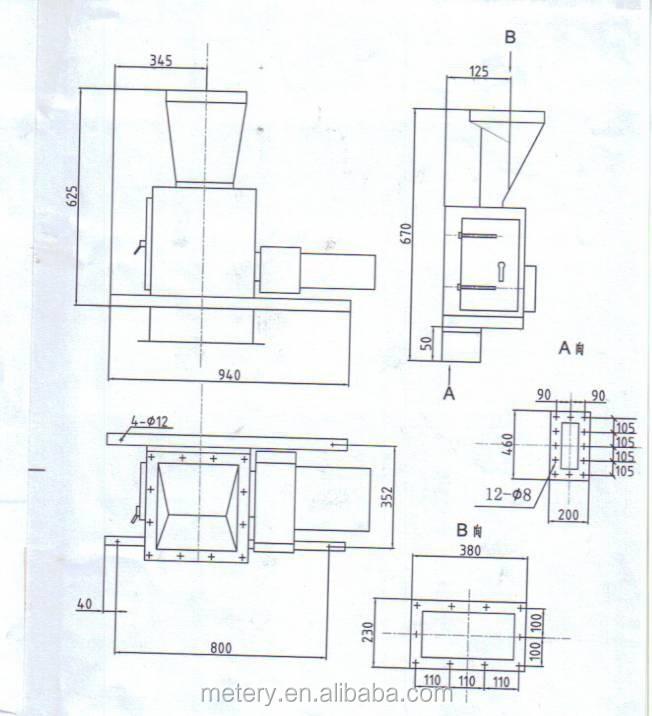 mt100dld-sy-tf solid bulk flow meter flowmeter