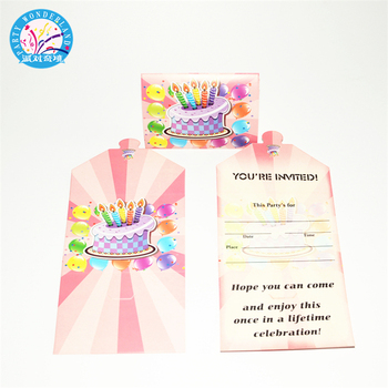 Good value folded printing envelope cards colorful cake pattern good value folded printing envelope cards colorful cake pattern party favor sets birthday party invitation card filmwisefo