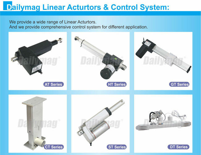 12V 1500N 8 Inch Stroke Waterproof Linear Actuator For Electric Recliner Chair Parts Dc Motor