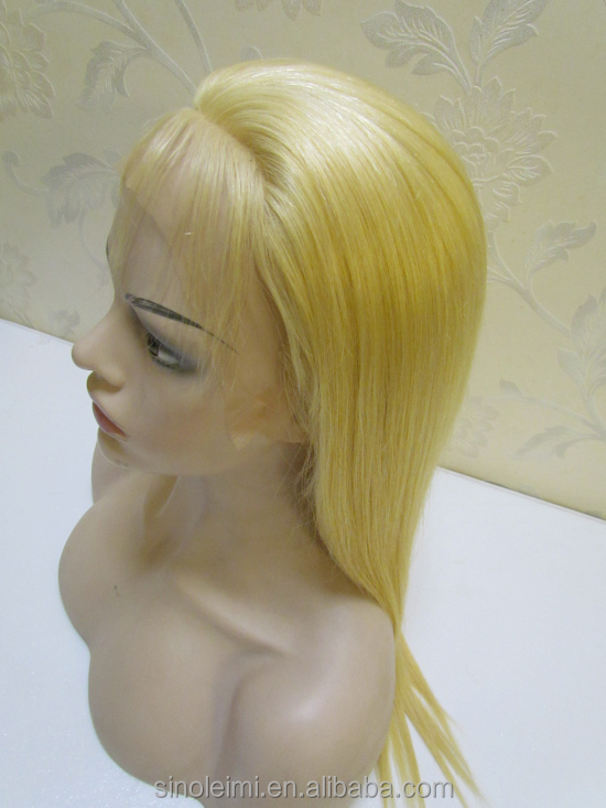 Remy Virgin Russian silky stright wave 613 Full Lace Wig, lace front wig