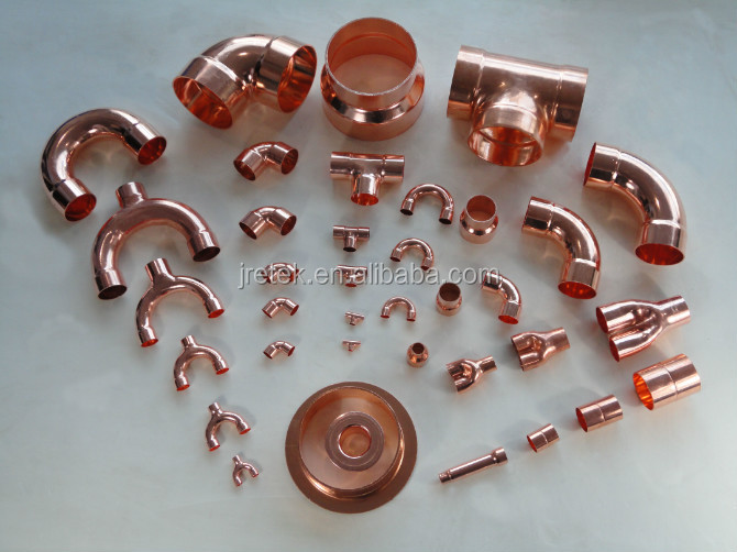 Different Copper Fittings For Refrigeration Parts - Buy Copper  Fittings,Copper Pipe Fittings Dimensions,Copper Tube Fittings Product on  Alibaba com