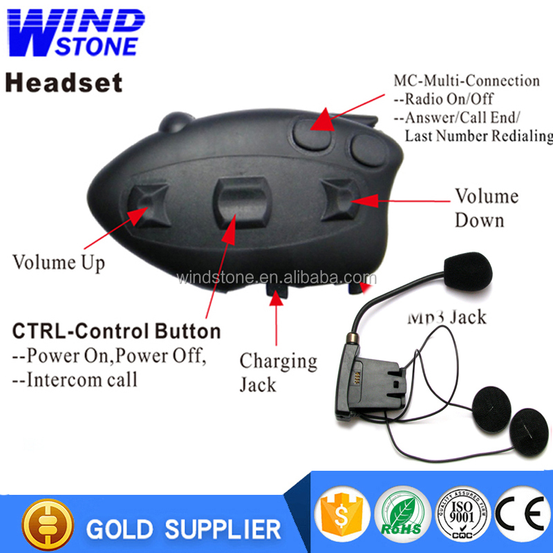 1 KM Interphone Helmet Headset Motorcycle Spare Parts