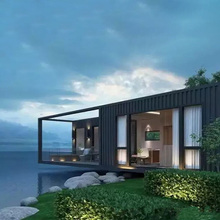 Hot selling prefab villas for Dubai