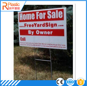 Supplier All Size PP Plastic Corrugated Parade Billboards Corflute Placards