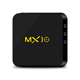 The cheapest android MX10 Tv box digital satellite receiver 4K HD media player set top box