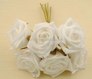 White mini foam flowers rose bouquet wholesale artificial flowers white mini foam flowers rose bouquet wholesale artificial flowers rose cheap china flower rose with 6 mightylinksfo