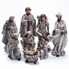 Custom Home Decoration Western Resin Christmas Nativity Set Religious Figurines and Statues