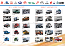 High Quality FOTON JINBEI Truck Parts Spare for Aftermarket Repair