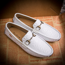 2018 summer classical men loafer shoes comfortable slip on driver shoes