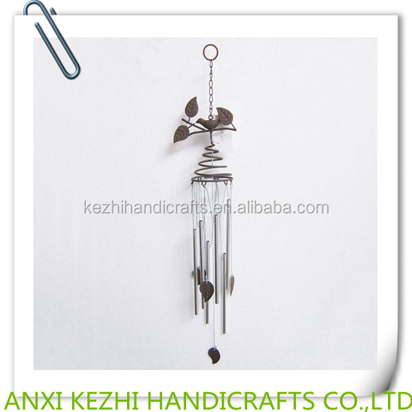 metal hanging birds wind chime