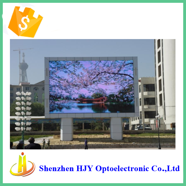 high quality P10 outdoor gas station price led sign board